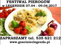 Festiwal pierogów 07.04 – 09.04.2017
